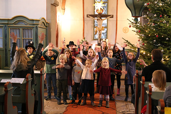 Kindergottesdienst in Angersbach