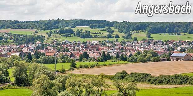 Blick auf Angersbach
